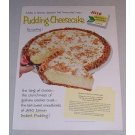 1958 Jello Pudding Lemon Pudding Cheesecake Recipe Color Print Ad