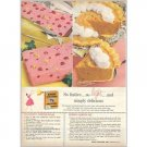 1959 Knox Gelatine Color Print Ad - So Festive So Light