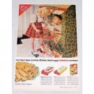 1954 Nabisco Cookies Color Print Ad - Let Them Have Another