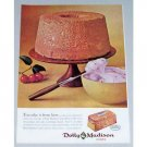1961 Dolly Madison Cakes Color Print Ad - Take It From Here
