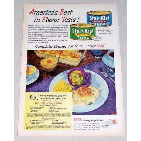 1952 Star Kist Tuna Color Print Ad - America's Best