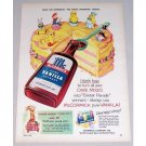 1954 McCormick Vanilla Extract Color Art Print Ad - Magic Spoonful