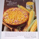 1960 Green Giant Niblets Whole Kernal Corn Color Print Ad