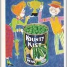 1960 Kountry Kist Peas Color Art Print Ad - Prize Winning Flavor