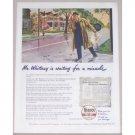 1945 Veedol Motor Oil Clark Agnew Art Vintage Color Print Ad