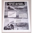 1945 Sinclair Refining Co. Douglas Super Airliner Vintage Print Ad