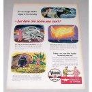 1946 Veedol Motor Oil Vintage Color Print Art Ad - Bogey In The Morning