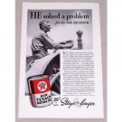 1937 New Texaco Motor Oil Farm Tractor Farming Vintage Print Ad