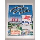 1953 Mobil Gas Pegasus Vintage Color Print Art Ad - Economy Gasoline