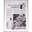 1941 Good Year Sure-Grip Tractor Tires Vintage Print Ad