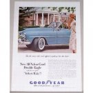 1954 Good Year Double Eagle Tires Vintage Color Print Ad