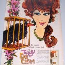 1960 Tussy Eye Cream Vintage Color Print Art Ad - Be Cagey