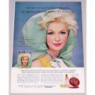 1961 Noxzema Cover Girl Vintage Color Print Ad - Cover Girl Complexion