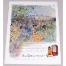 1949 Bond Street Yardley Perfume Buckingham Palace Color Print Art Ad