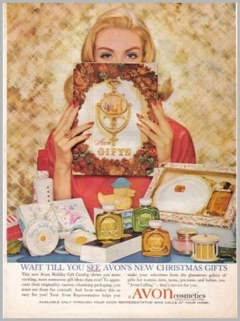 1960 Avon Cosmetics Avon Gifts Color Print Ad