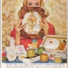 1960 Avon Cosmetics Avon Gifts Color Print Ad