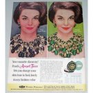 1961 Ponds Angel Face Compact Make Up Vintage Color Print Ad