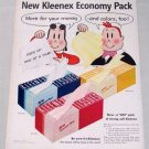 1955 Kleenex Tissues Little Lulu Art Vintage Color Print Ad