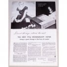 1934 Wondersoft Kotex Sanitary Napkins Print Ad