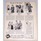 1949 Kotex Sanitary Napkins Vintage Print Ad - Are You In The Know