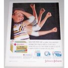 1960 Johnson Johnson Red Cross Bandage Color Print Ad