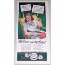 1944 Fresh Cream Deodorant Color Print Ad