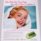 1958 Palmolive Soap Vintage Color Print Ad