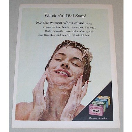 1958 Dial Soap Color Print Ad - Wonderful Dial Soap!