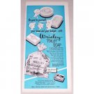1952 Wrisley 8 Cake Toilet Soap Color Print Ad