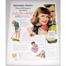 1948 Palmolive Soap Color Print Ad - Lovelier Skin In 14 Days