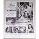 1945 Woodbury Facial Vintage Print Ad - Annapolis Ceremony