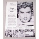 1953 Lux Soap Vintage Print Ad Celebrity Deborah Kerr