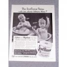 1941 ScotTissue Toilet Tissue ScotTissue Twins Vintage Print Ad