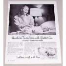 1947 ScotTissue Toilet Tissue Vintage Print Ad - Handle Tender Skin