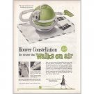 1960 Hoover Constellation Vacuum Cleaner Color Print Ad