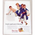 1939 Bon Ami Powder Color Print Ad - Angels Out Of Dirty Boys