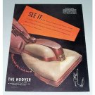 1946 The Hoover Vacuum Cleaner Color Print Ad