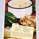 1947 Enameledware Porcelain Cookware Vintage Color Print Ad
