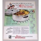 1946 Reynolds Lifetime Aluminum 6Qt Dutch Oven Color Print Ad