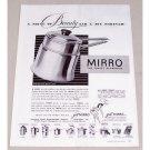 1949 Mirro Aluminum Double Boiler Cookware Vintage Print Ad
