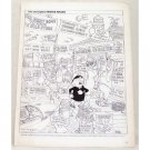 1963 GE Soft White Light Bulbs Mr Magoo Cartoon Vintage Print Ad