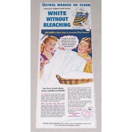 1944 Oxydol Detergent Color Art Print Ad - Far Ahead