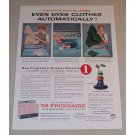 1957 Frigidaire Ultra-Clean Washer Color Print Ad