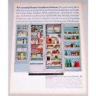 1965 Kelvinator Foodarama Refrigerator Color Print Ad