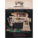 1961 Singer Slant-O-Matic 500 Sewing Machine Color Print Ad