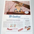 1945 Trimz Wallpaper Color Ad Celebrity Songstess Hildegarde
