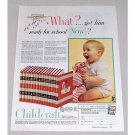 1954 Childcraft Educational Books Color Print Ad