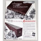1956 Encyclopedia Americana Vintage Print Ad