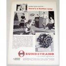 1955 Sundstrand Oil Burner Pump Vintage Print Ad