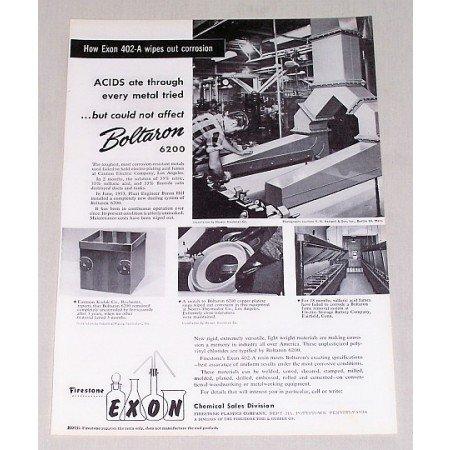1954 Boltaron 6200 Corrosion Resistant Metals Vintage Print Ad